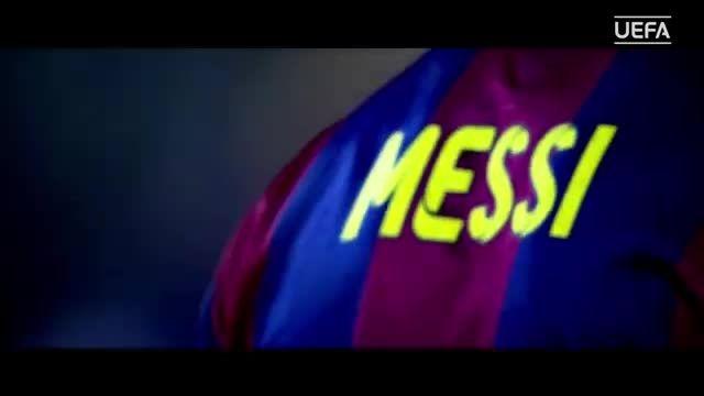مهارت های مسی - نامزد بهترین بازیکن فوتبال اروپا