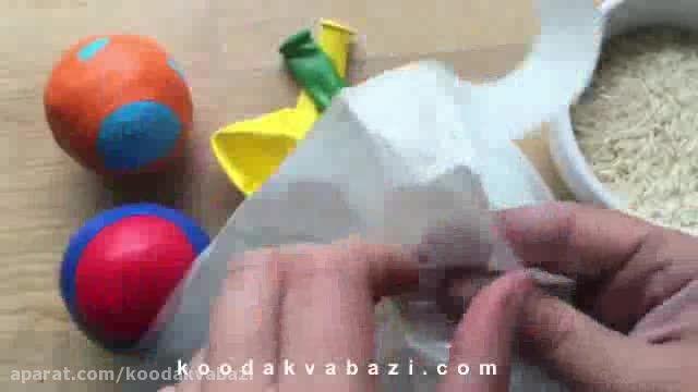 ساختن توپ بادکنکی