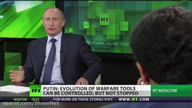 10برترین مصاحبه  خبرگزاری روسیه 7 ولادمیر پوتین روسیه