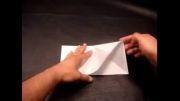 درست کردن پروانه با کاغذ