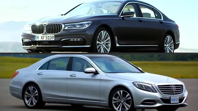 2016 BMW 7 Series VS Mercedes S-Class