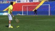 مهار توپ تنیس توسط ناواس