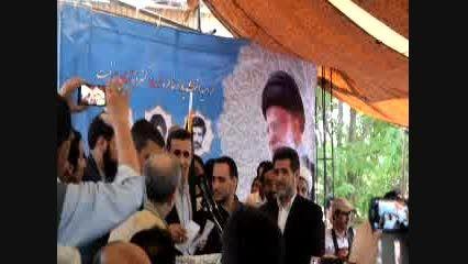 تشکر احمدی نژاد از مردم استان چارمحال و بختیاری