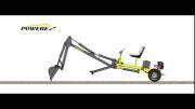 Powerex Mini Excavator مینی بیل پاورکس ( نحوه حرکت )