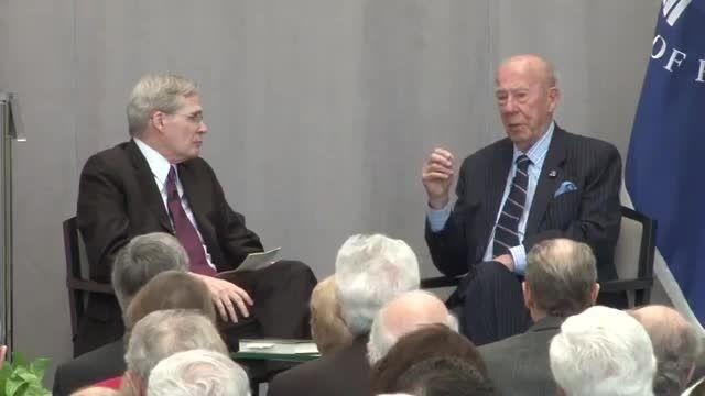 بررسی مسئله ی هسته ای ایران با حضور جورج شولتز
