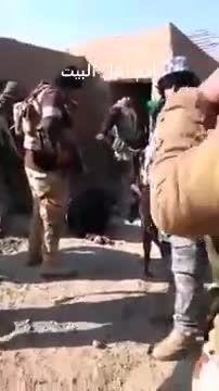 حال و روز تروریست داعشی دستگیر شده