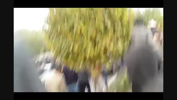 تظاهرات مردم تبریز به علت توهین برنامه فیتیله به ترک ها