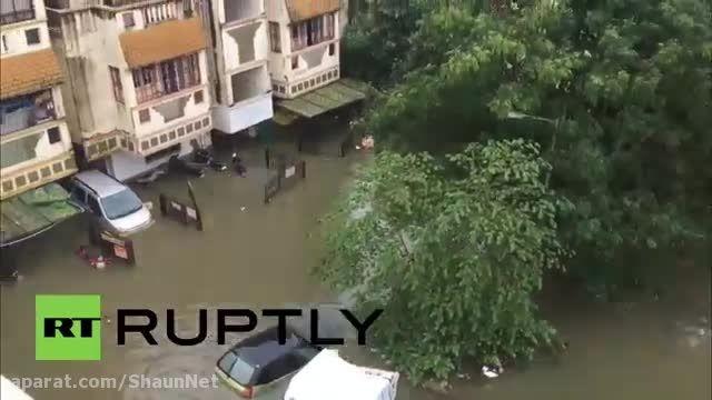 طوفان سیل خشکسالی مشکل اصلی از فساد دولت ها هندپاکستان
