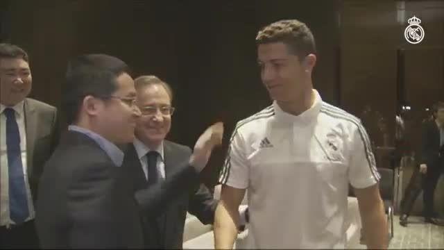 امضای قرارداد بین باشگاه رئال مادرید و شرکت علی بابا