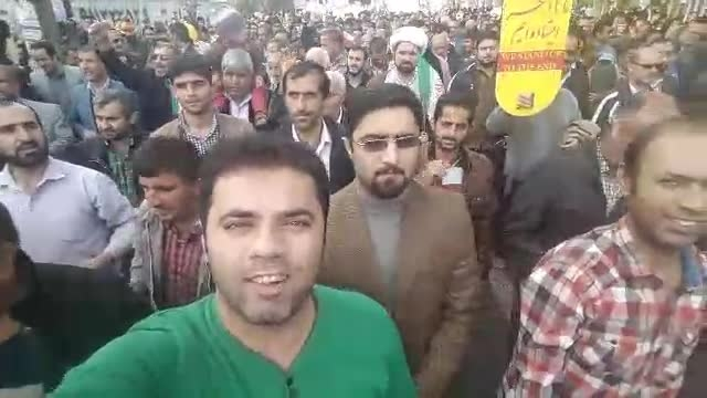 22 بهمن سال 93 شهرستان محمودآباد مازندران شمال ایران