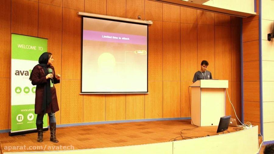 ارائه تیم هگزی پیکسل در روز ارائه آواتک