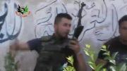 تروریست های تازه وارد سوری نرسیده توسط ارتش سوریه مورد هدف قرار میگیرن
