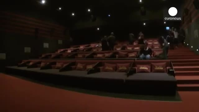 نخستین سینمای دارای تخت اروپا