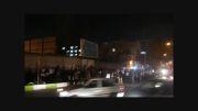 تجمع دانشجویان شیراز مقابل دفتر امام جمعه و استانداری