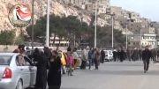 سوریه:1392/11/06:بازگشت مردم پس از تسلیم تروریستها-برزه