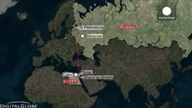 هواپیمای ایرباس روسی با ۲۲۴ سرنشین در مصر سقوط کرد