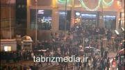 شادی در تبریز بعد برد تراکتور مقابل الاتحاد