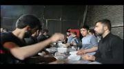 نذری روز سوم عاشورا - شهر مریانج