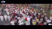 بزرگترین تظاهرات مردم یک کشور عربی در حمایت از غزه - Se