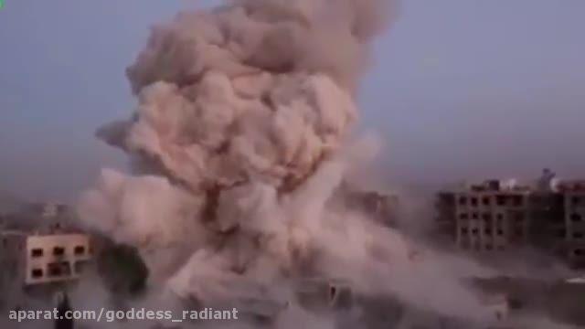 انتقام گرفتن فرانسه از داعش در سوریه