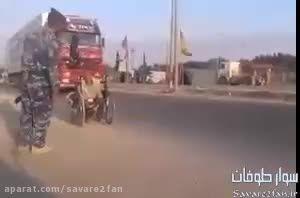 حرکت معلول با ویلچر، از زادگاهش به سوی کربلا!