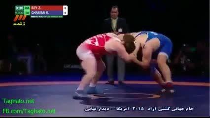 کشتی ایران برای چهارمین سال پیاپی قهرمان جهان شد