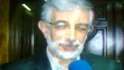 صحبت آقای حداد عادل با دکتر روحانی