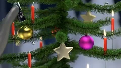 درخت کریسمس!