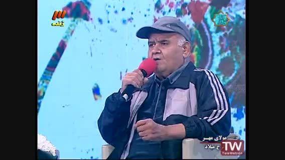 فحاشی اکبر عبدی در برنامه زنده