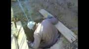 ابداع جالب برای کندن چاه توسط یکنفره و تخلیه خاک