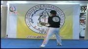 اجرای کاتای شمشیر از مجموعه آموزش شمشیر استاد حسین خاکی