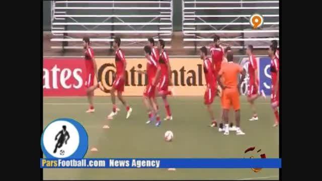 تمرینات شاگردان کی روش برای بازی با عمان