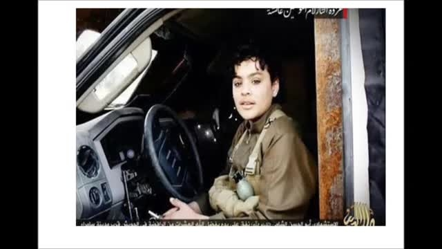 پسربچه های داعشی که خندان ب استقبال جهنم می روند-سوریه