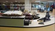 میز مرجع کتابخانه