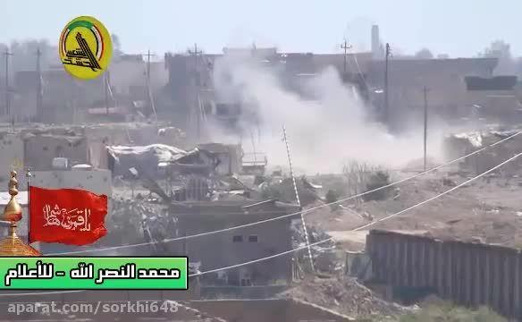 بمباران شدید مواضع داعش در فلوجه و کشته شدن....-سوریه