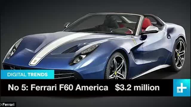 10 خودروی گران قیمت جهان در سال 2015
