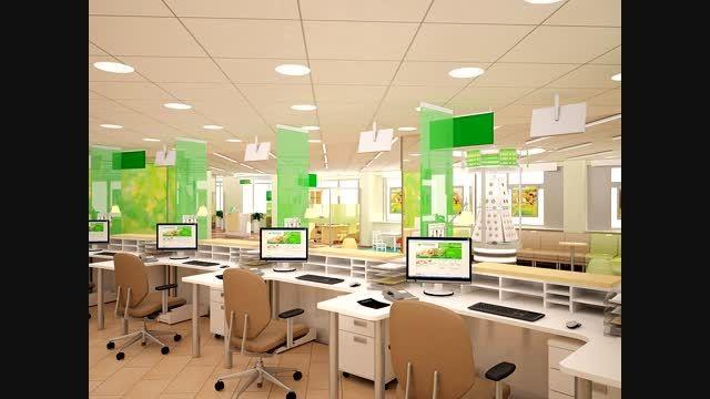 تصاویر طراحی دفاتر کار و محیط اداری