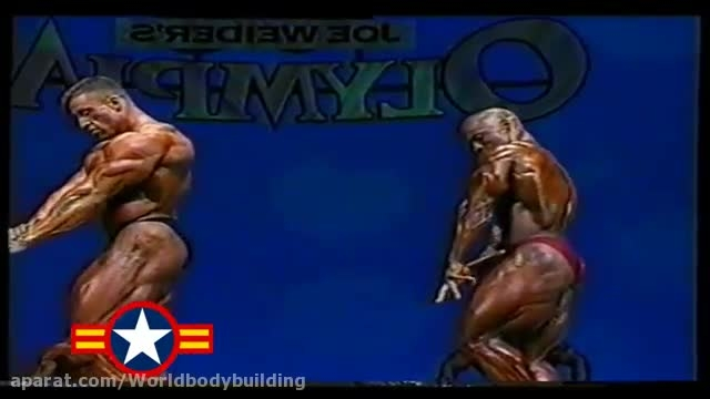 رقابت شان ری و دوریان یتس در مسابقات مسترالمپیا