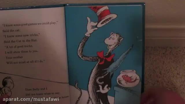 کتاب صوتی گربه در کلاه دکتر زوس (زبان انگلیسی)