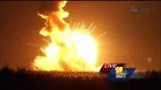 انفجار راکت ناسا