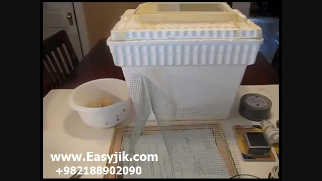 ساخت دستگاه جوجه کشی با حداقل امکانات درمنزل