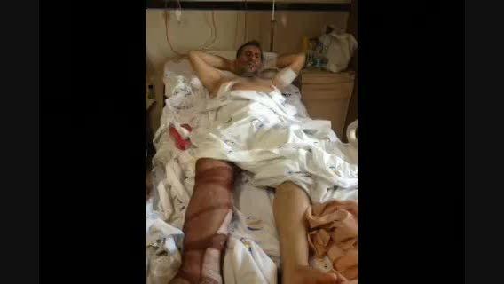 آزادی سردار ایرانی از زیر شکنجه داعش