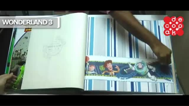 آلبوم کاغذ دیواری واندرلند 3