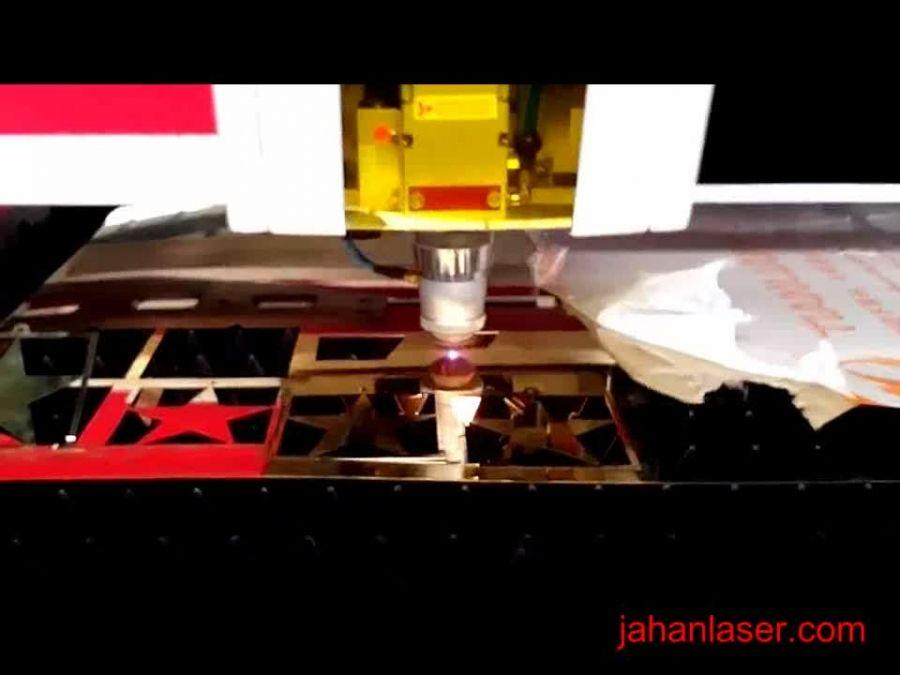 برش فلز با دستگاه لیزر