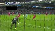 گل های بازی منچستر سیتی 3 - 1 لیورپول