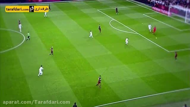 واکنش های درخشان براوو در برابر رئال مادرید