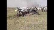 سقوط جت جنگنده  ارتش قبل از مانور