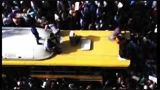 استقبال بی نظیر از 270 شهید گمنام/ تهران قیامت شد