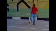بازیکن با استعداد باشگاه استقلال-سجادنوروزی از ورزشگاه سعیدی
