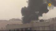 گزارش تصویری  درگیریهای نیروهای کرد با داعش در کوبانی
